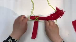 Уроки детского творчества - Лошадка из ткани