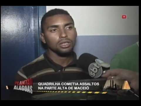 Quadrilha cometia assaltos na parte alta de Maceió