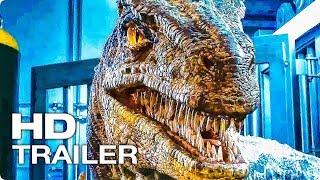 МИР ЮРСКОГО ПЕРИОДА 2 ✩ Трейлер #3 (Крис Пратт, Динозавры, Экшен, Sci-Fi, 2018)