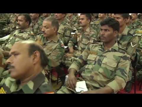 Army camp in Dev Sanskriti Vishwavidyalaya Shantikunj Haridwar   08 April 2016
