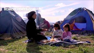 Chị đã chạy trốn nỗi kinh hoàng ở Syria cùng 5 đứa con nhỏ và Châu Âu từ chối tiếp nhận họ