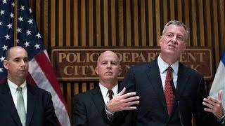 New York Explosion: Mayor de Blasio, Police Commissioner Give Updates