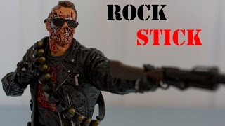 McFarlane Toys Movie Maniacs 4 Terminator 2 T-800 Action Figure Review