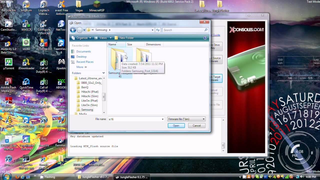 Jungleflasher firmware pack.
