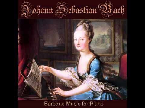 Lied In D Minor, BWV 515, Johann Sebastian Bach Works On Piano