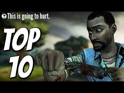 Top 10 Choices That DON'T MATTER - The Walking Dead: Seasons 1-4 (TELLTALE GAMES)