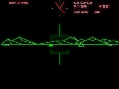 Battle Zone (Atari 1980) - AAE (Another Arcade Emulator)