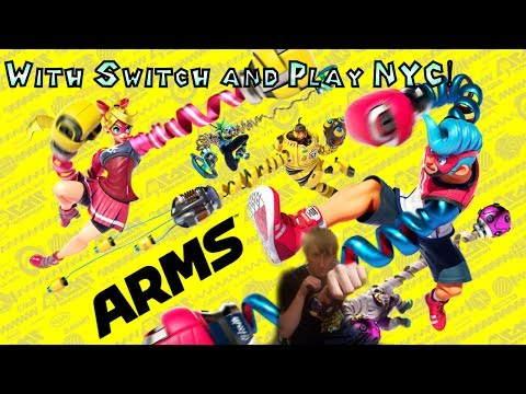 Catch These Arms with Switch and Play NYC!