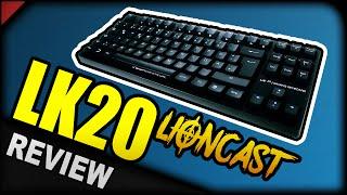 pro gaming keyboard lioncast lk20   mechanische tastatur