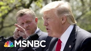 Why President Donald Trump Uses A Different Microphone Than Past Presidents | The 11th Hour | MSNBC