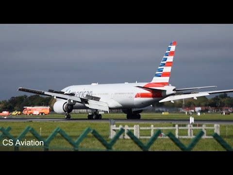 American Airlines B777 Flight AA-101 *Emergency Landing* at Dublin Airport