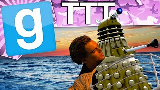 Gmod TTT - Trouble At Sea (Garry's Mod Funny Moments)