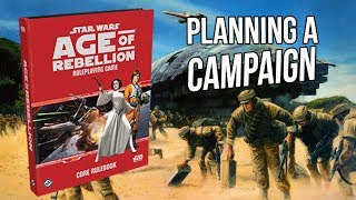 Star Wars Age of Rebellion - Planning a Table Top Campaign (Live)