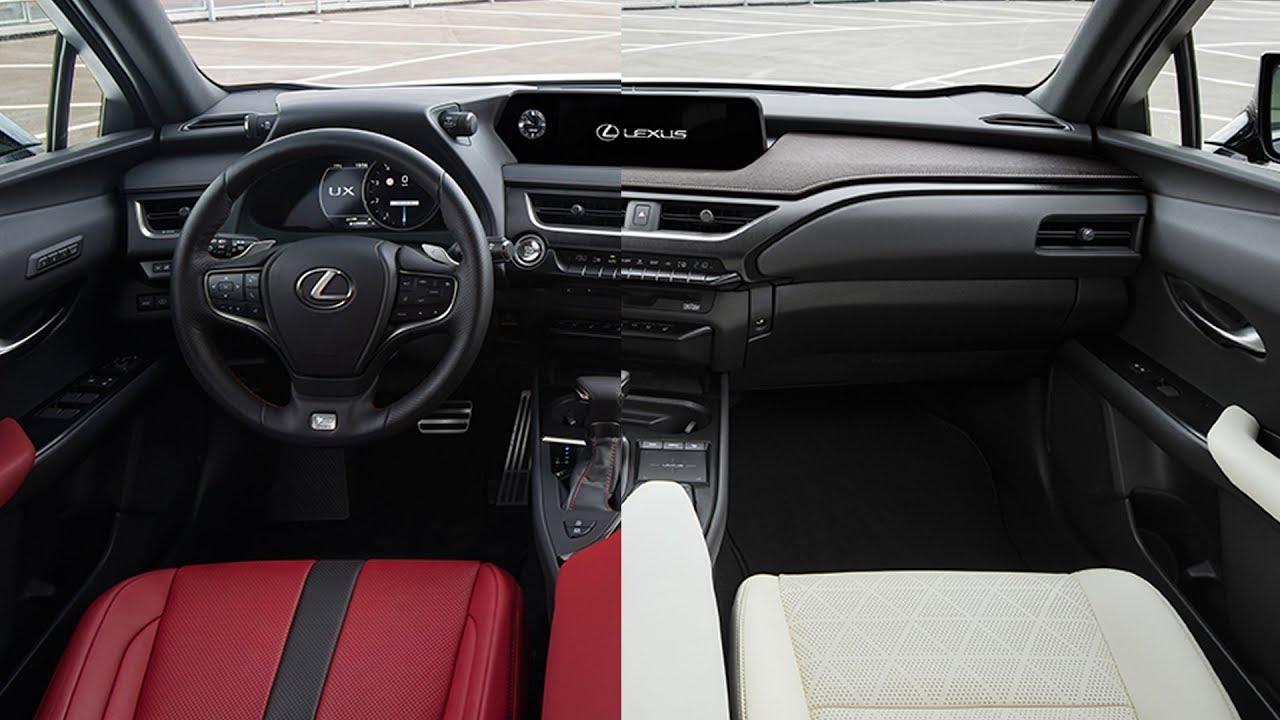 2019 lexus ux 250h interior options