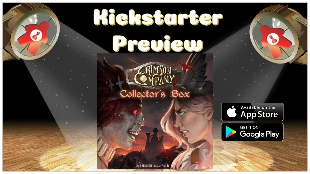 Crimson Company App Kickstarter Preview