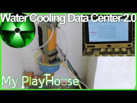 Water Cooling Data Center Air Intake, Experiment 2.0 - 553