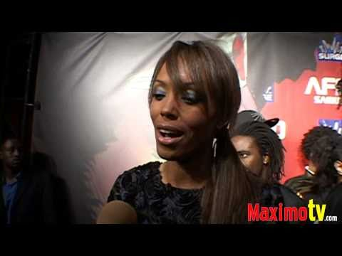 AISHA TYLER Interview at AFRO SAMURAI Launch Party Arrivals