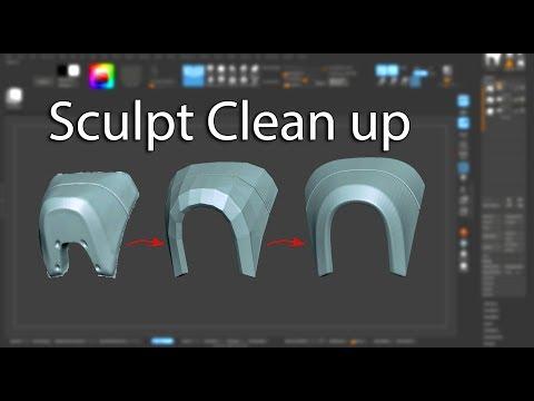 Sculpt clean up - Mini Tutorial thumbnail