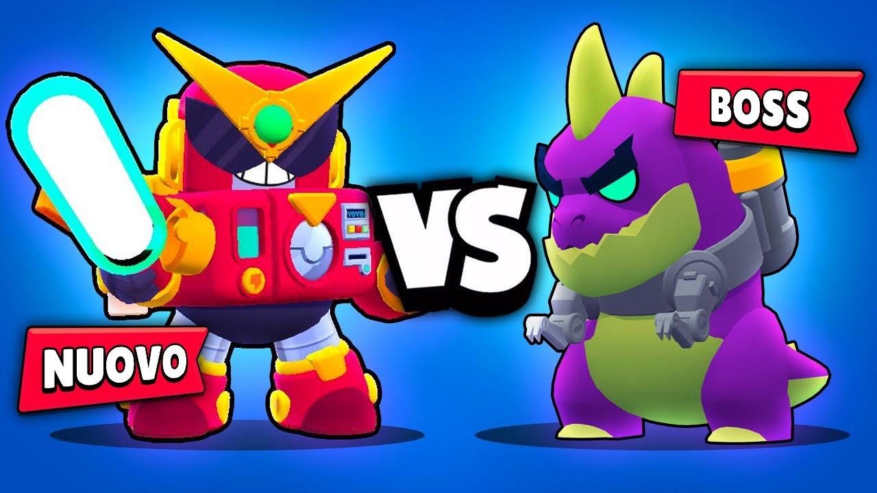 Il NUOVO Brawler ENERGETIK vs il *NUOVO* BOSS di Brawl Stars! Con Grax e Ferre!