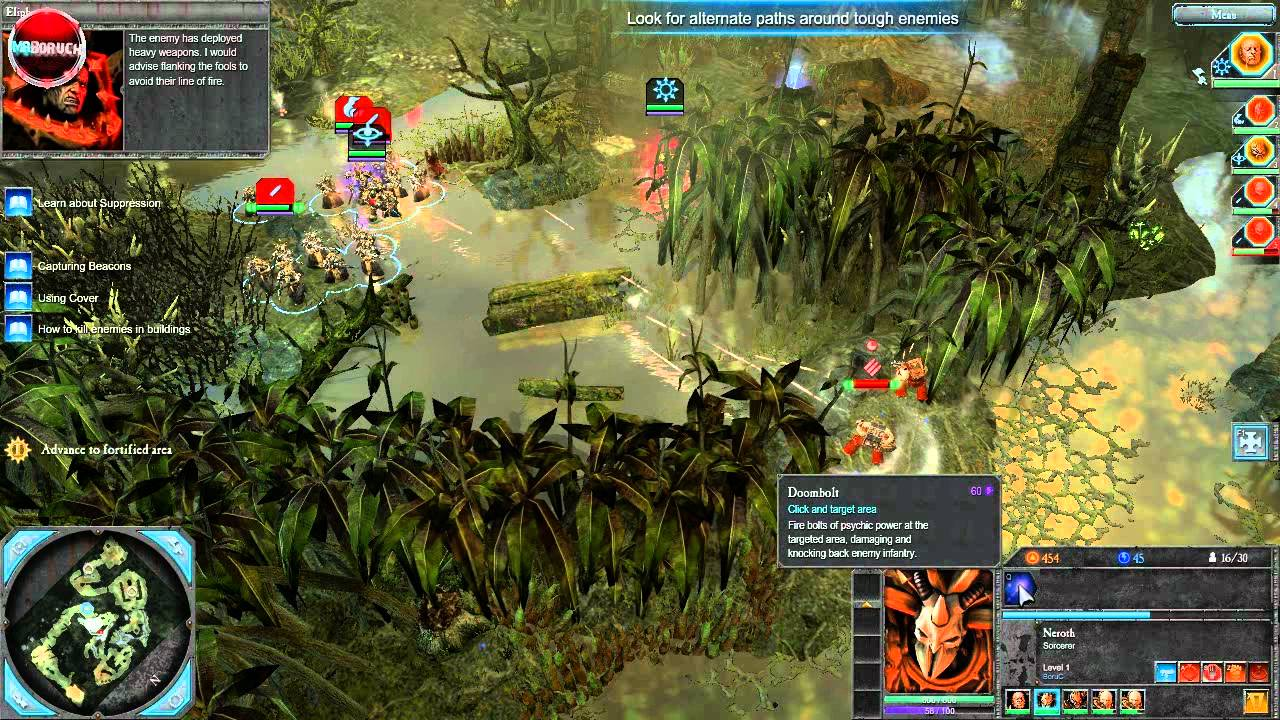 Total War Warhammer Wallpaper Hd Warhammer 40 000 Dawn Of War Ii Retribution Gameplay Pc