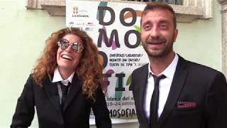 I protagonisti di Domosofia 2018: le Iene Veronica Ruggeri e Stefano Corti