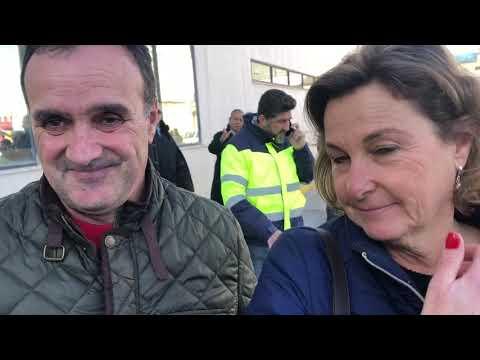 Varios pasajeros atrapados en el Baleària relatan su experiencia