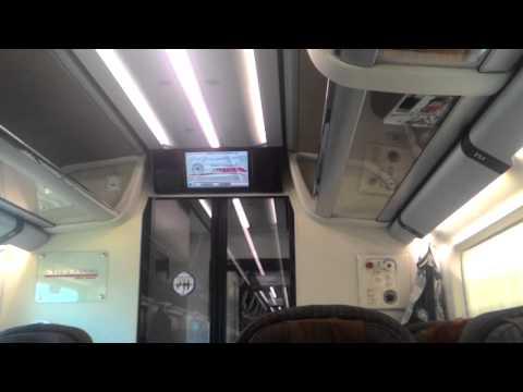 Frecciarossa: Roma Termini to Milano Centrale