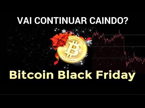 BITCOIN BLACK FRIDAY - Vai continuar caindo? Compro ou Vendo?