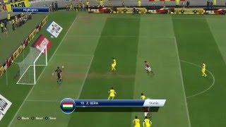 PES 2016 Gameplay PC Romania vs Hungary Highlights 1080p Ultra Settings