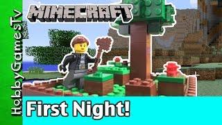 Minecraft Trixie First Night Game Play Xbox HobbyKids by HobbyGamesTV