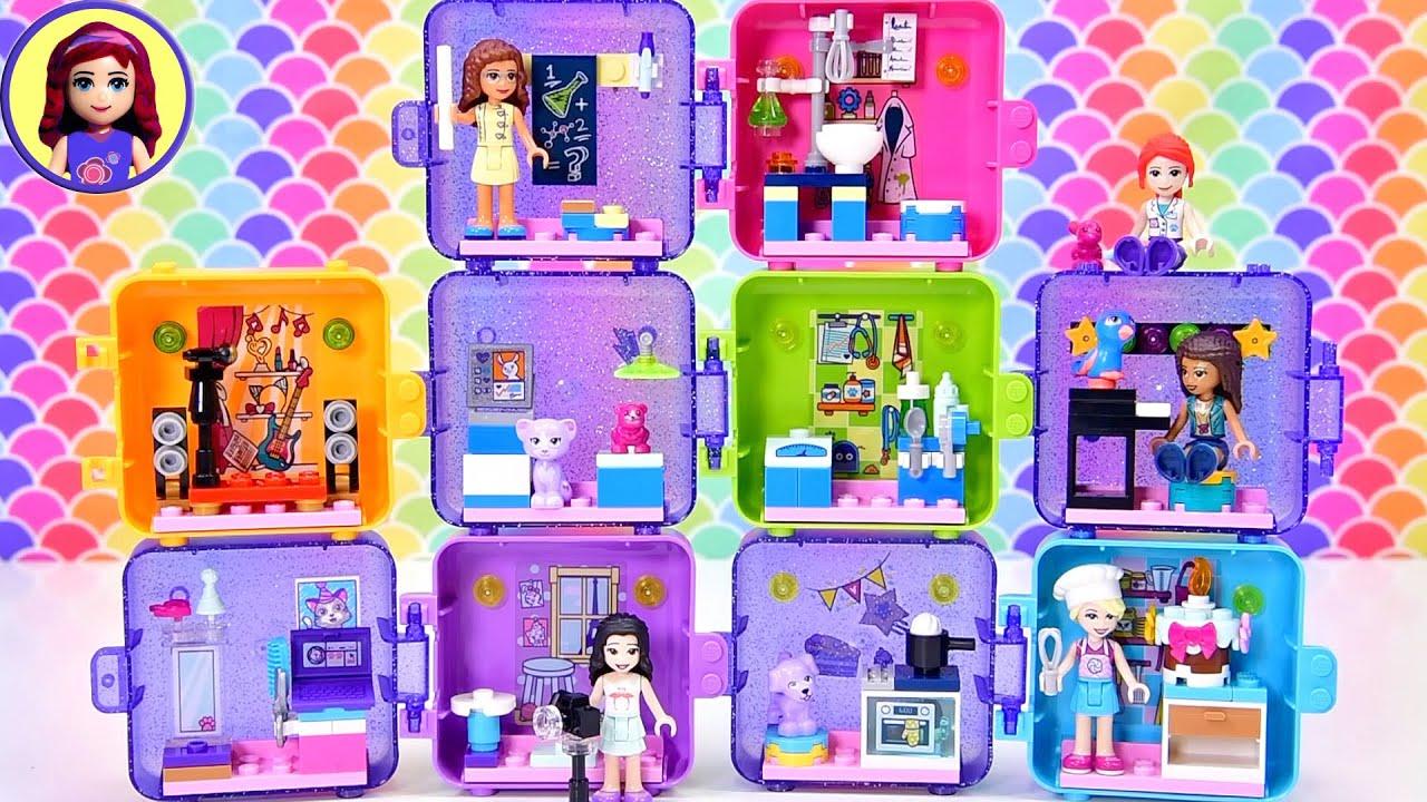 Olivia's Play Cube - it's a tiny mad scientist lab! Lego ...