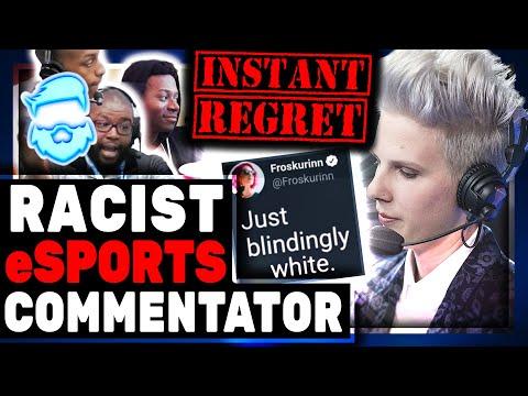 Epic Fail! White eSports Woman Calls eSports Too White & Immediately ROASTED! Froskurinn Vs Thorin