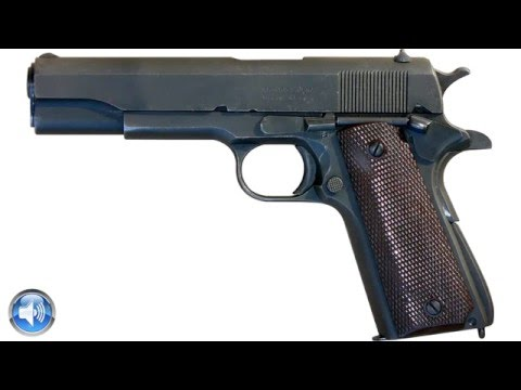 Colt 45 Pistol Sound Effects One Shot !I! Pistol Sound Effects Free Download