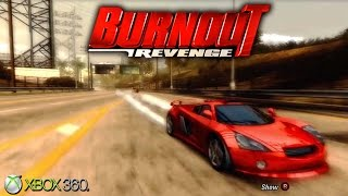Burnout Revenge - Xbox 360 Gameplay (2006)