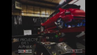 The Projects Season 2 Ep. 1 - The ALPHA K …. All Motor Civic EK