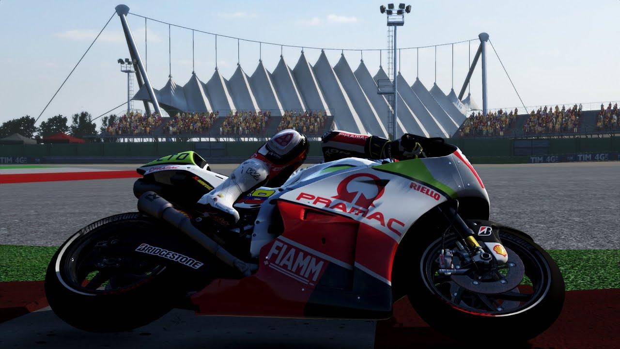 MotoGP 15 - Ducati Desmosedici GP 14.2 - Misano World Circuit Marco Simoncelli - YouTube