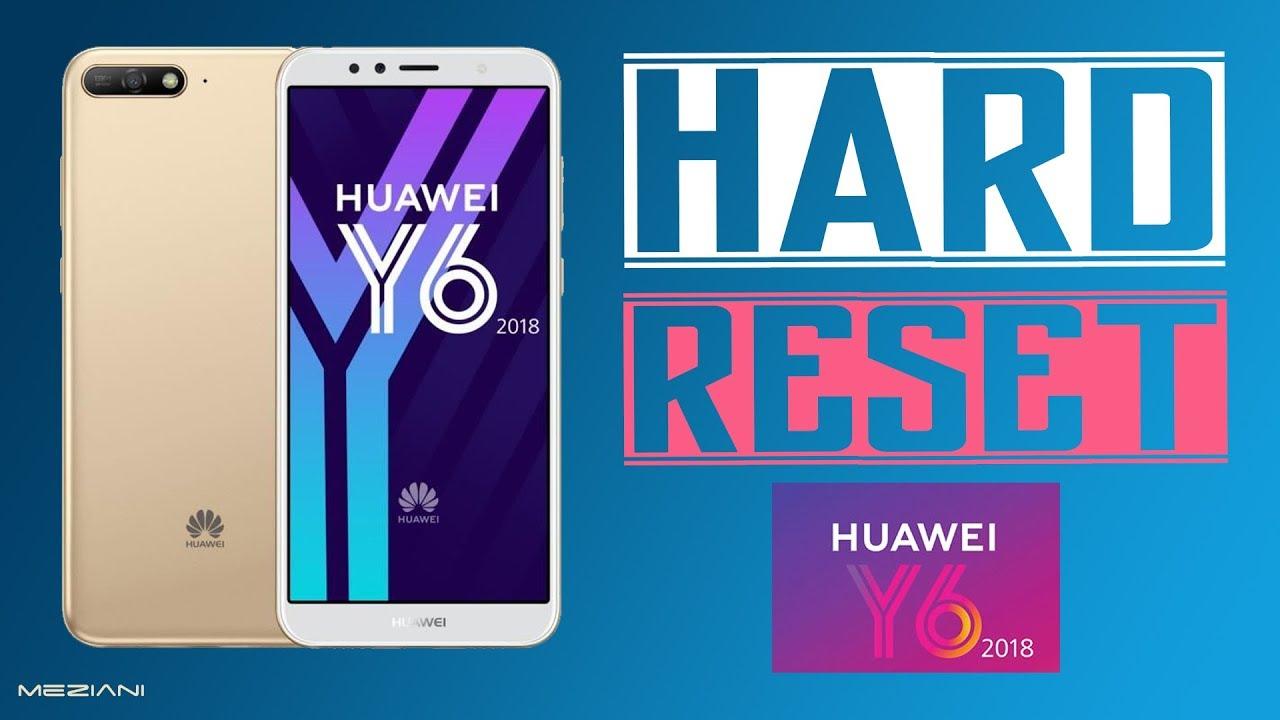 Hard Reset HUAWEI Y6 2018 Factory Reset