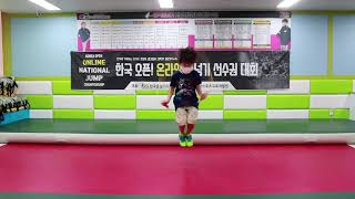 2020 한국오픈 온라인 전국줄넘기 선수권대회 30초 …
