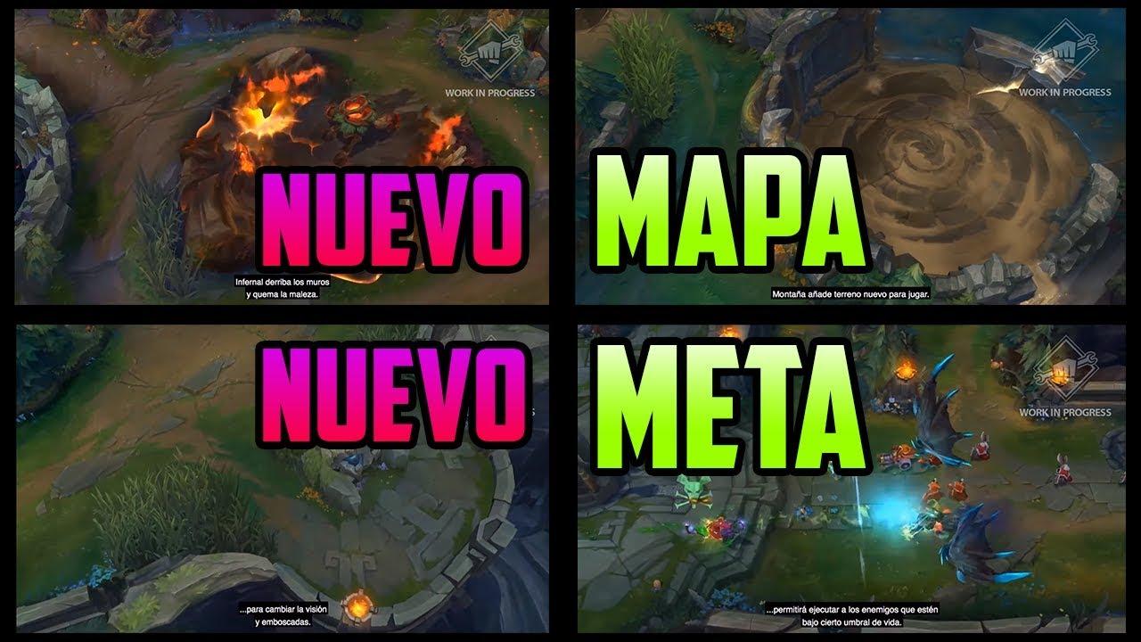 League Of Legends Mapa.Cambios En El Mapa Y El Meta De La Preseason 10 Analisis