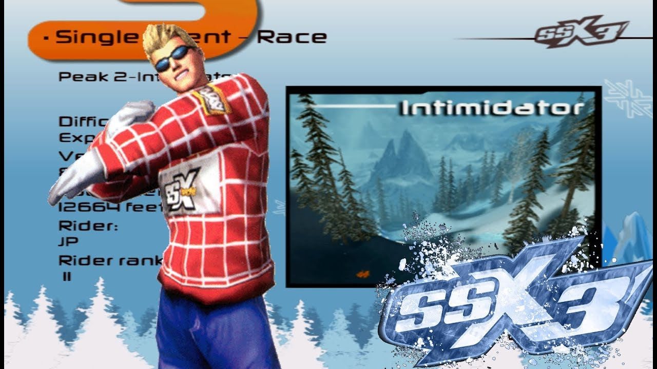 SSX 3 - Cheat Characters ~ JP