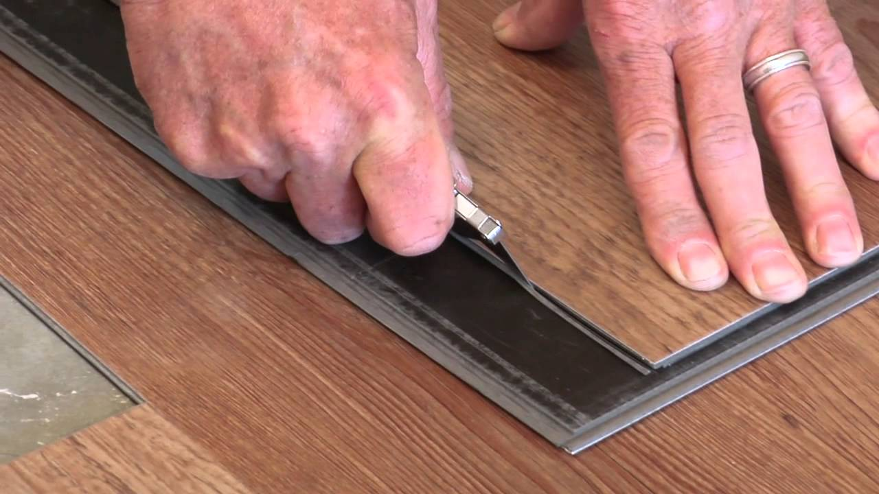 LVT Click Flooring Installation  Moduleo  Full Video