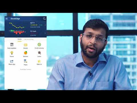 StockEdge Version 2.2 with ad remove and Interactive chart features (Hindi)