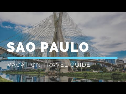 Sao Paulo Vacation Travel Guide