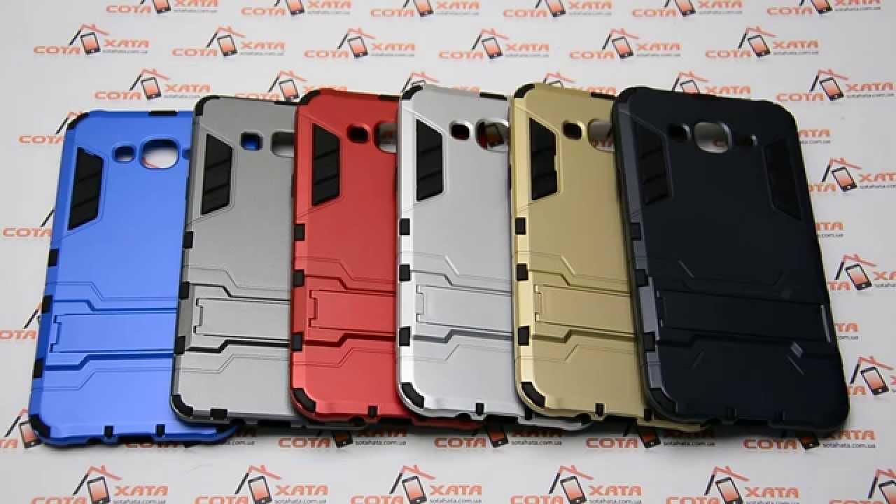 ОБЗОР: Модный Силиконовый Чехол-Накладка для Samsung Galaxy J5 SM .