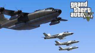 GTA 5 - Army Patrol Episode #42 - BOMBUSHKA RAID! Flying In Formation! (New DLC Gear, Air Support)