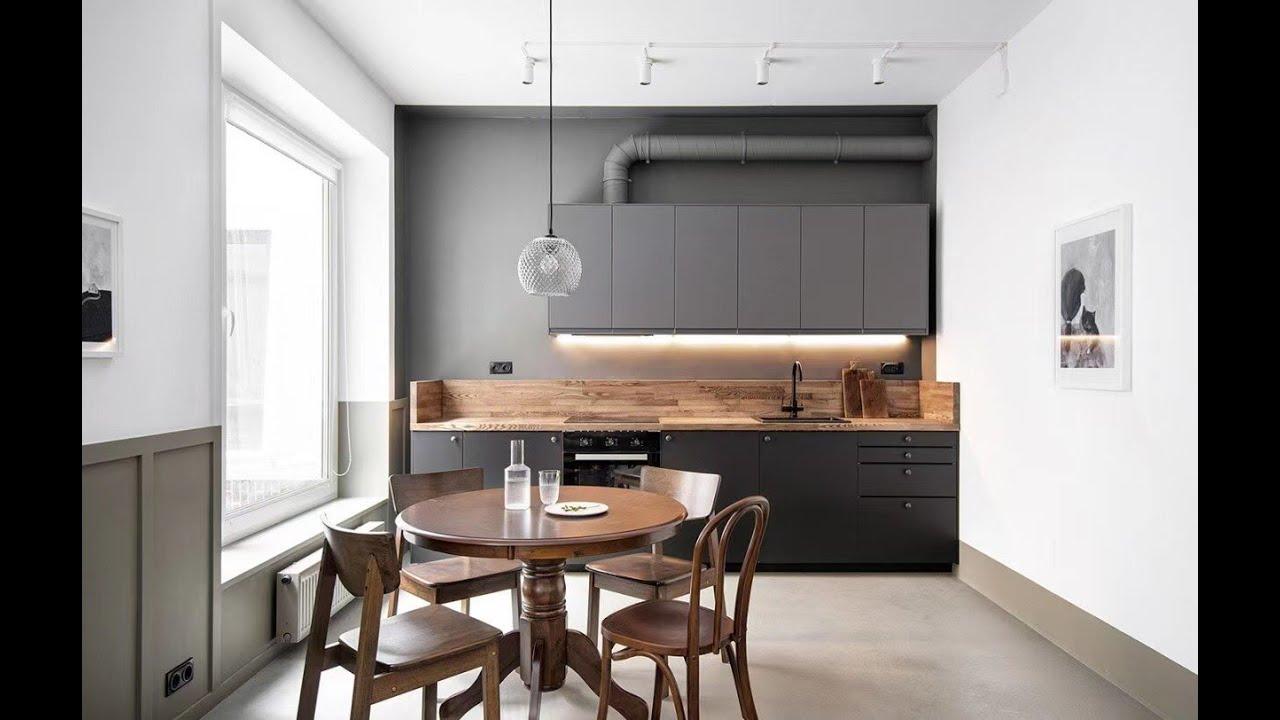 室内效果图厨房餐厅空间灯光分析