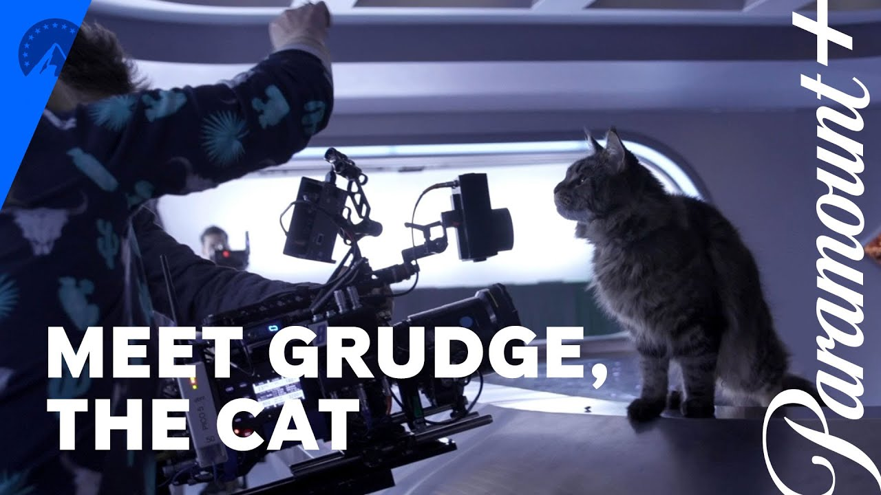 Star Trek: Discovery | Get To Know Grudge, The Cat | Paramount+