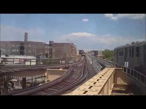 CTA Green Line train from Garfield (55th Street) to 63rd/Cottage Grove terminal (06-08-16)