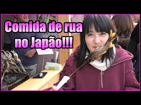 Rolê gastronômico pelo Japão! Comidas de rua em Inuyama!