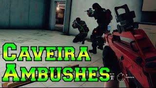 Brutal Caveira Ambushes - Rainbow Six Siege | Serenity17